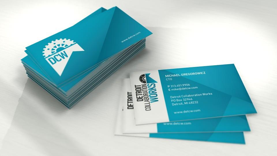 Business Card, Render