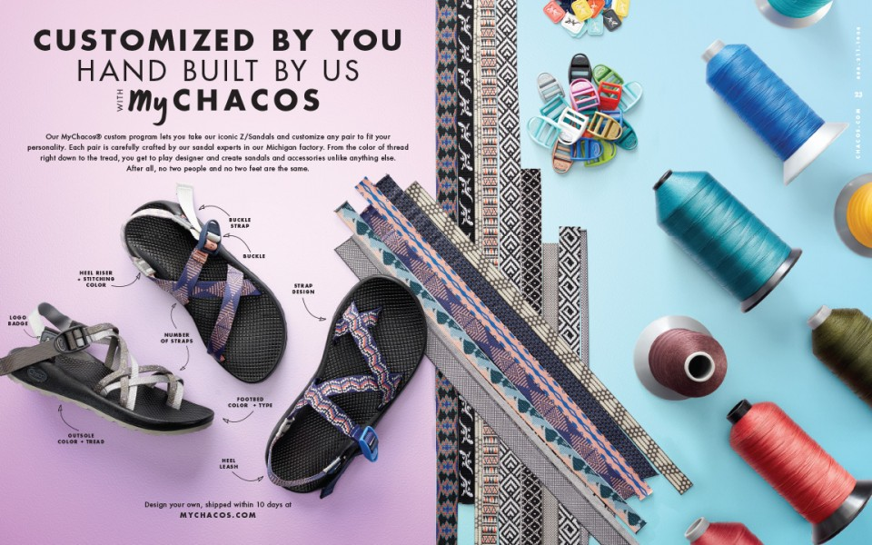 MyChacos Custom Spread