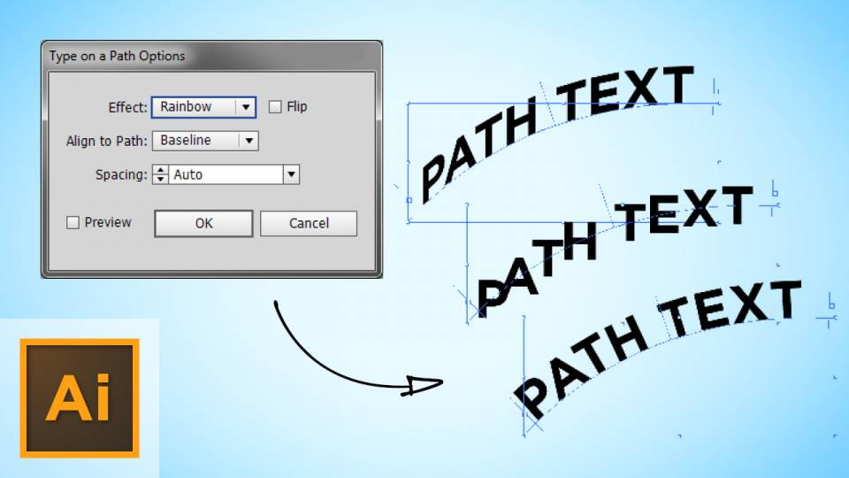 More Options For Doing Text On A Path