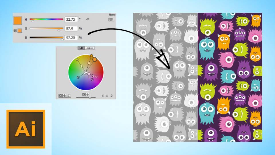 Editing Colors in Illustrator The Way You Do In Photoshop
